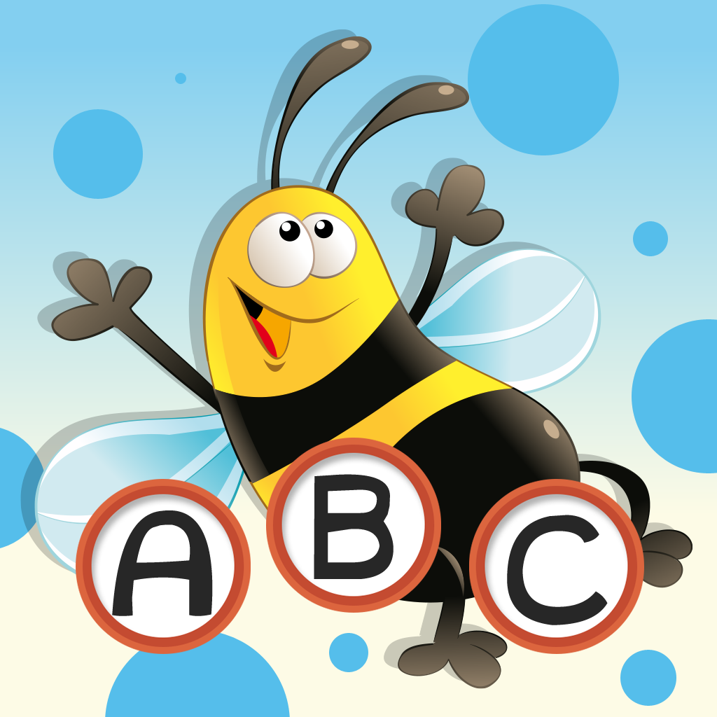 ABC Insect learning games for children: Word spelling of insects and bugs for kindergarten and pre-school