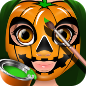 Download Halloween Face Paint - Paint the Kids Faces - Dress Up the Kids free for iPhone, iPod and iPad